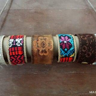 DIY Cowrie Shell Stack Bracelets 11