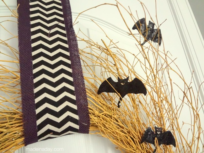 Chevron Bat Wreaths