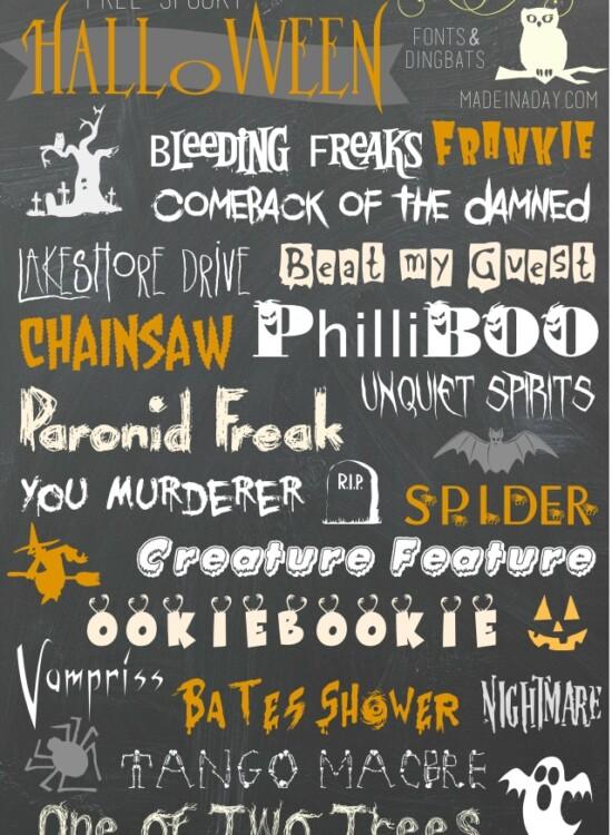 Free Halloween Fonts Dingbats 39
