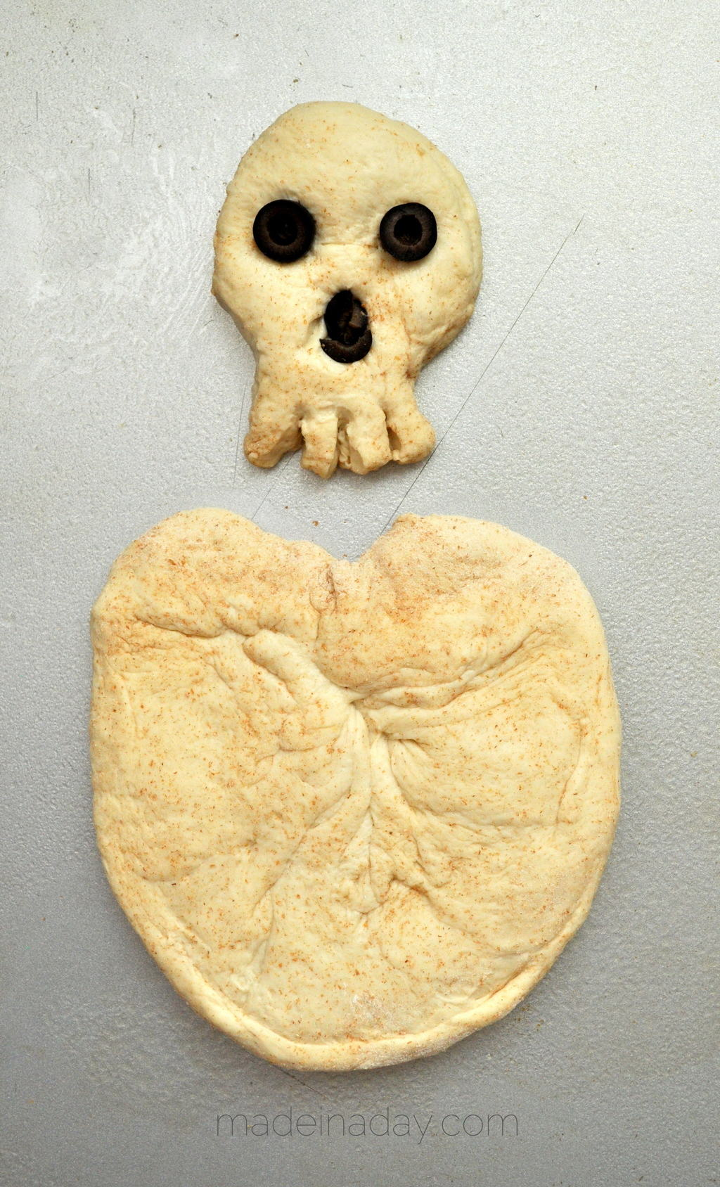 Horrifying Skeleton Bread Bone Breadsticks 3