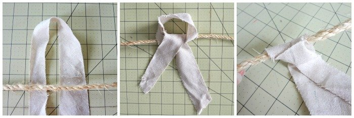 Make a Rag Garland