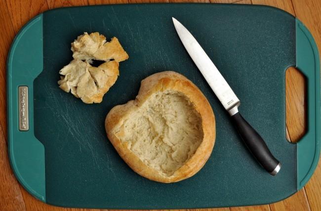 Make a bread bowl