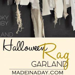 Spooky Shabby Rag Garland 31