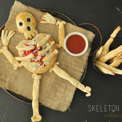Skeleton Bread Bone Breadsticks