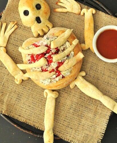 Horrifying Skeleton Bread Bone Breadsticks 34