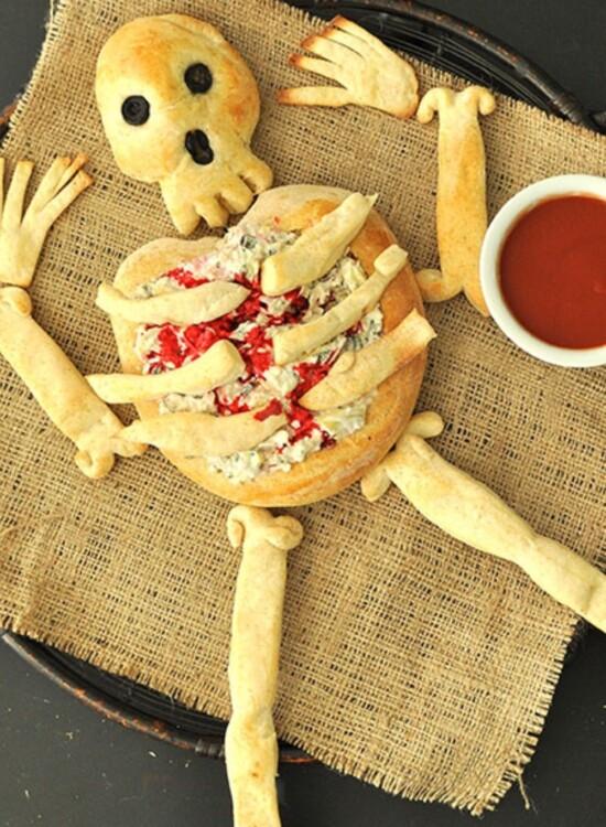 Horrifying Skeleton Bread Bone Breadsticks 9