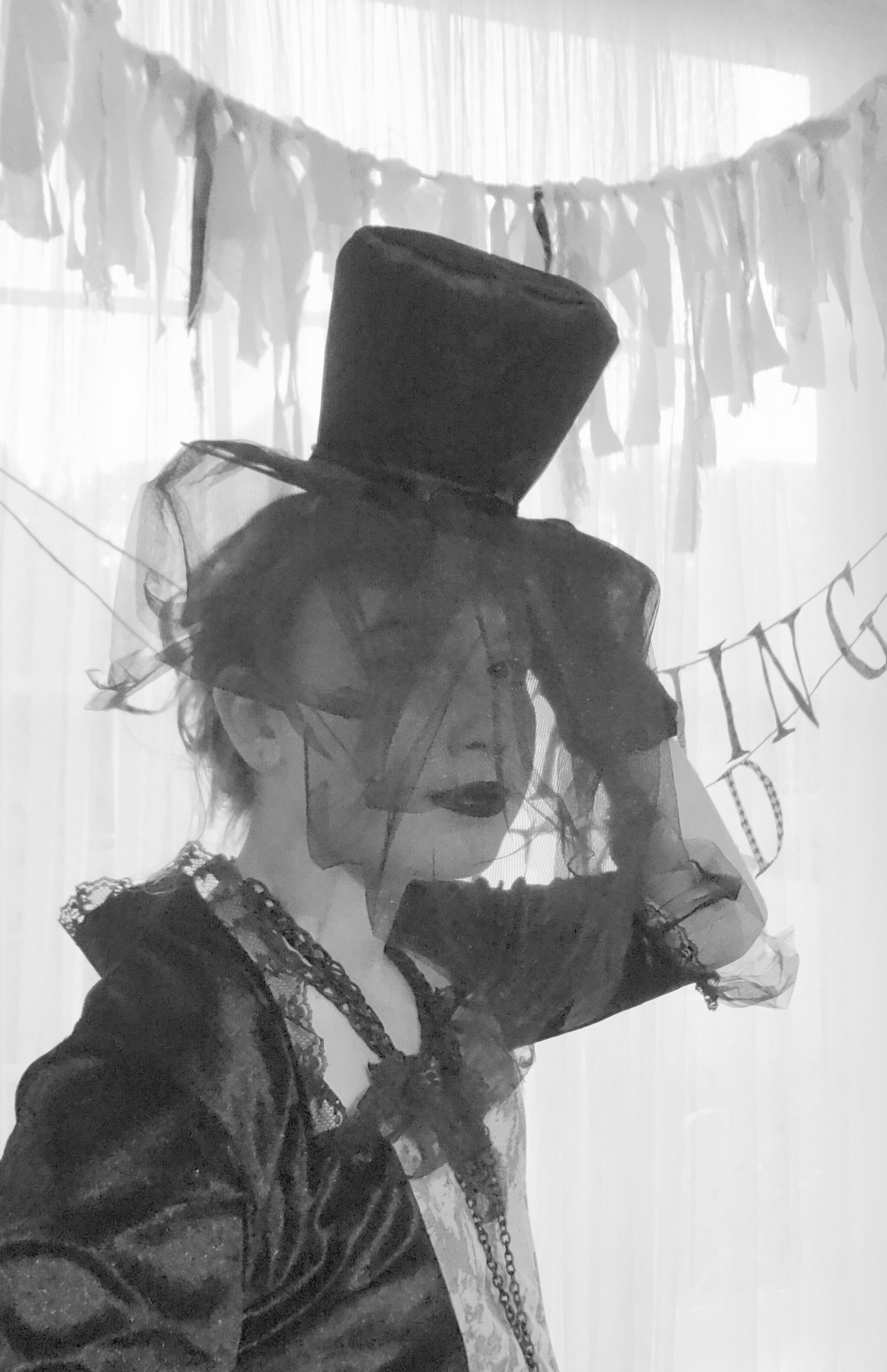 Victorian Lady Halloween Costume madeinaday.com