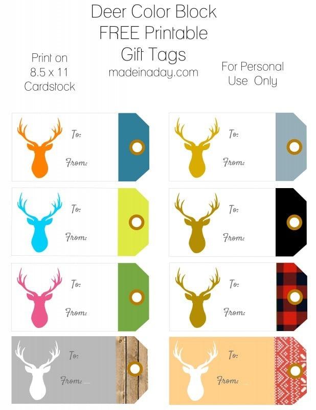print gift tags