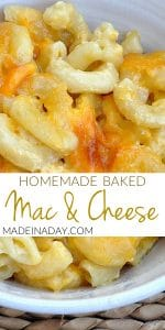 Homemade Macaroni and Cheese 1