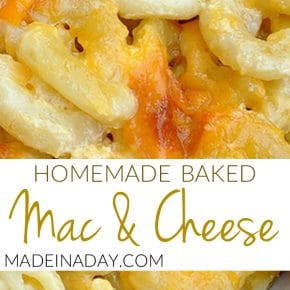 Homemade Macaroni and Cheese 1