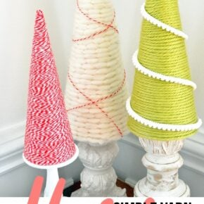 Holiday Yarn Trees 1