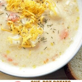 One-Pot Creamy Potato Shrimp Chowder 1