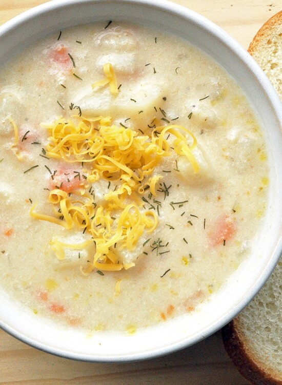 One-Pot Creamy Potato Shrimp Chowder 2
