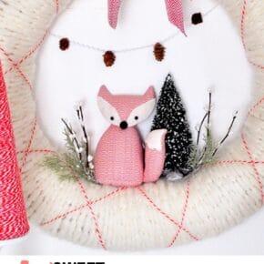 Fox Holiday Wreath 31