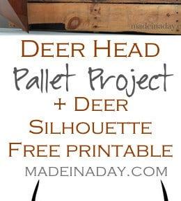 Deer Head Pallet 31