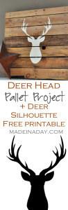 Deer Head Pallet 1