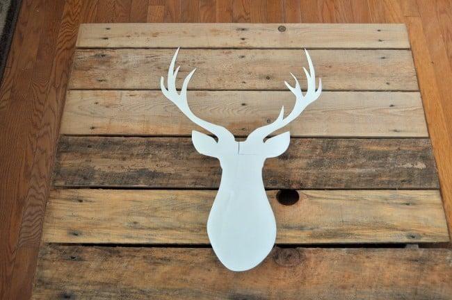 Deer Silhouette Pallet