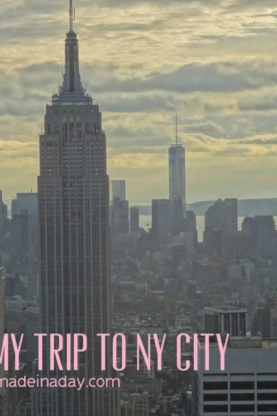 My New York Holiday Trip