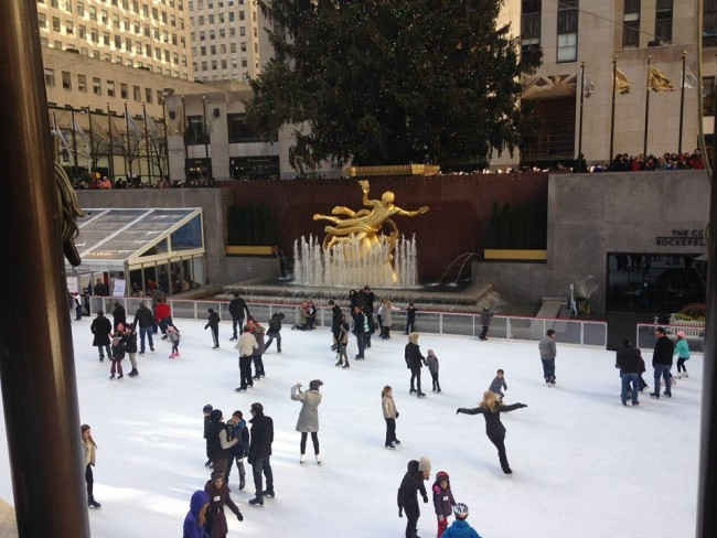 The Rink Rockefeller Center madeinaday.com