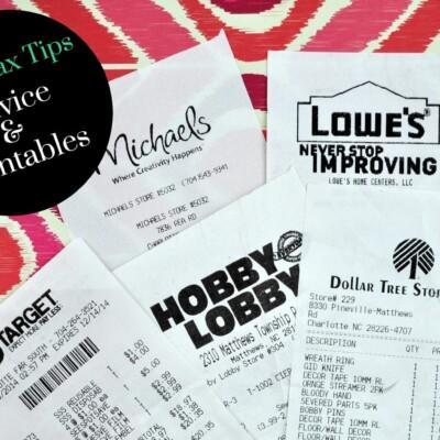 Blogging Tax Tips