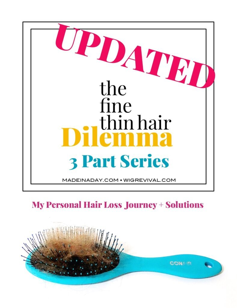 Hair Loss solutions, female hair loss, how to style thin hair, make thin hair fuller