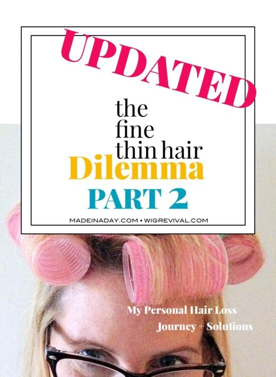 The Fine Thin Hair Dilemma Part 2 39