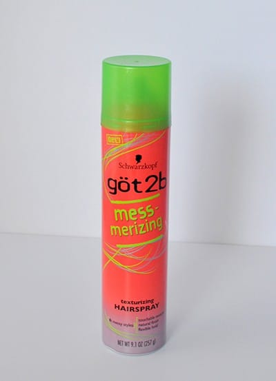 got2be messmerizing spray, add texture to fine hair