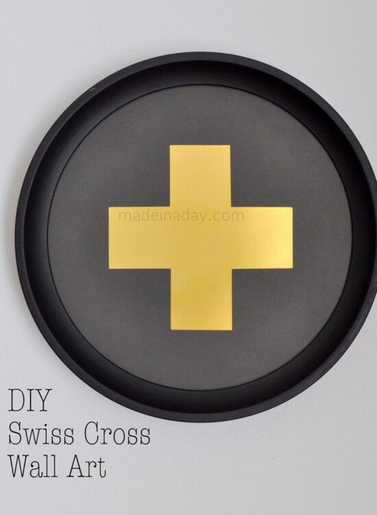 DIY Swiss Cross Wall Art 38