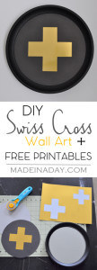 DIY Swiss Cross Wall Art 1