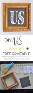 "Printable Gallery Wall ""Us"" Wall Art 1"