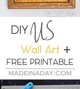 "Printable Gallery Wall ""Us"" Wall Art 29"