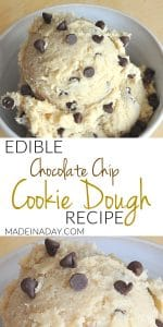 Perfect Eggless Edible Cookie Dough Recipe 1
