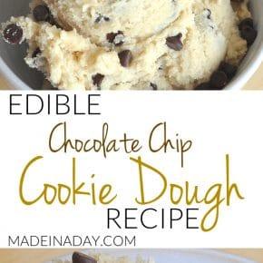 Perfect Eggless Edible Cookie Dough Recipe 1