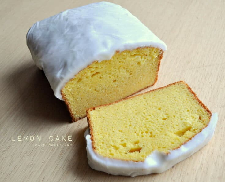 Lemon Loaf Cake 3