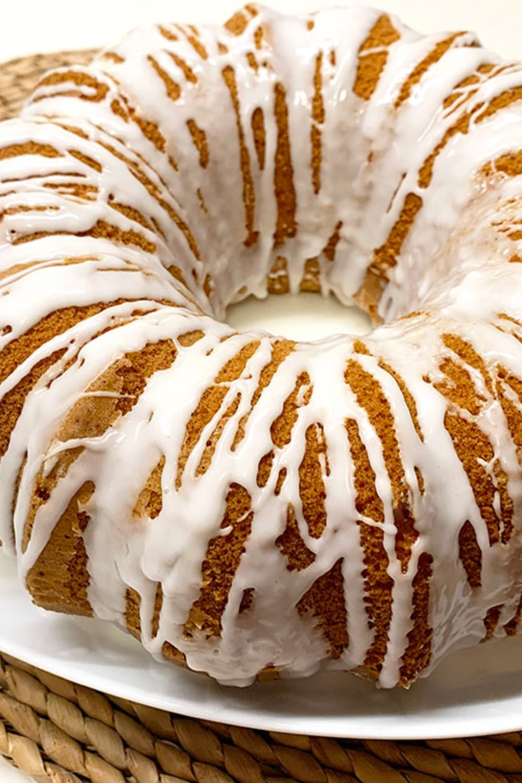 Glazed Lemon Bundt Cake Recipe