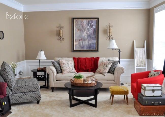Living Room Before makeover madeinaday.com