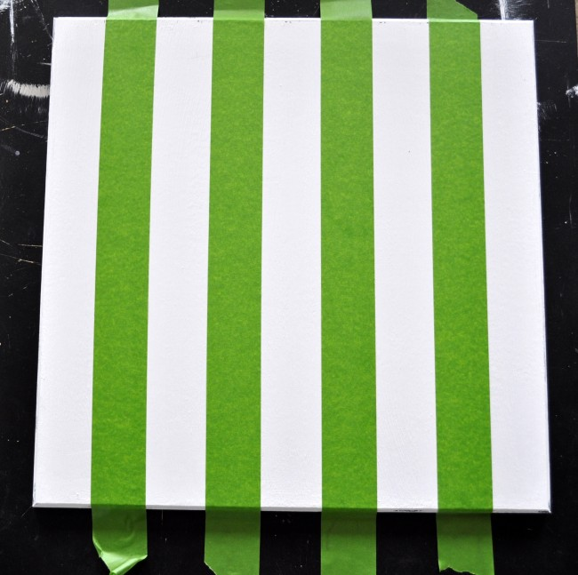 how to paint stripes madeinaday.com