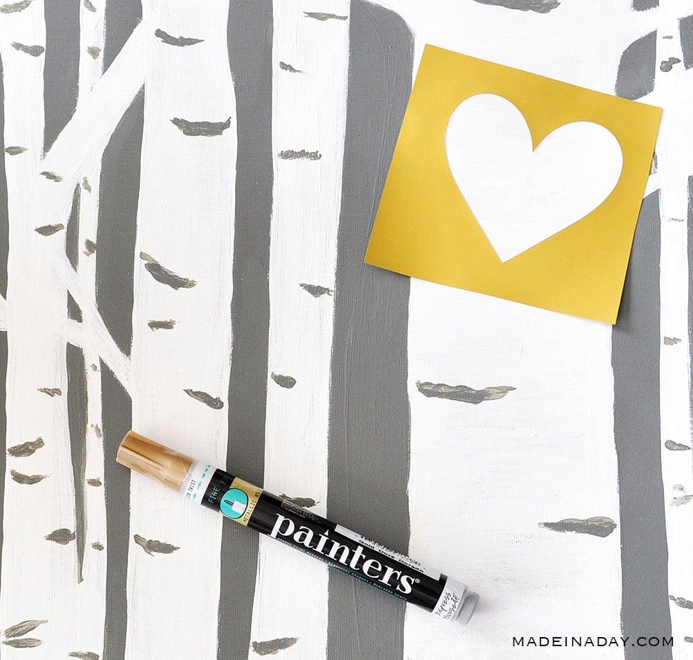 paint a heart
