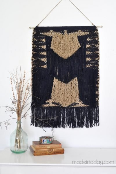How to Make a DIY Large Tapestry No Weave