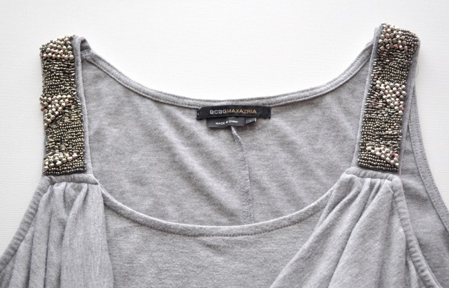 Embellished Tank upcycle