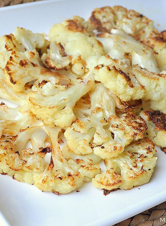 Oven Roasted Cauliflower Steaks 35