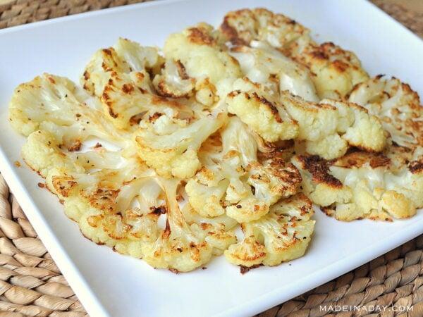 Oven Roasted Cauliflower Steaks