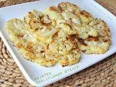 Low Carb Roasted Cauliflower Steaks