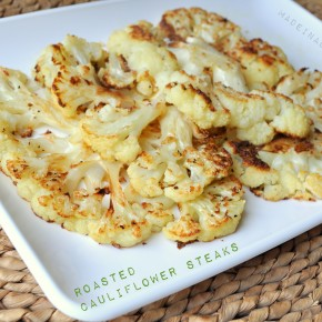 Low Carb Roasted Cauliflower Steaks