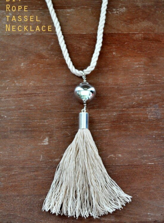 DIY Rope Tassel Necklace 35