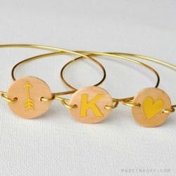 Monogram Wire Bracelet sq
