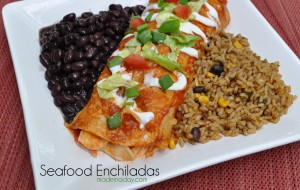 Seafood Enchilada with Imitation Crab Madeinaday.com