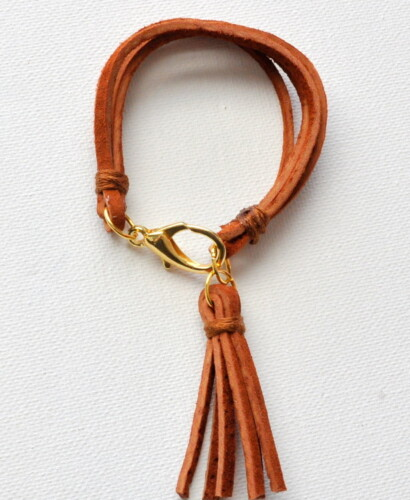 Suede Tassel Bracelet 32