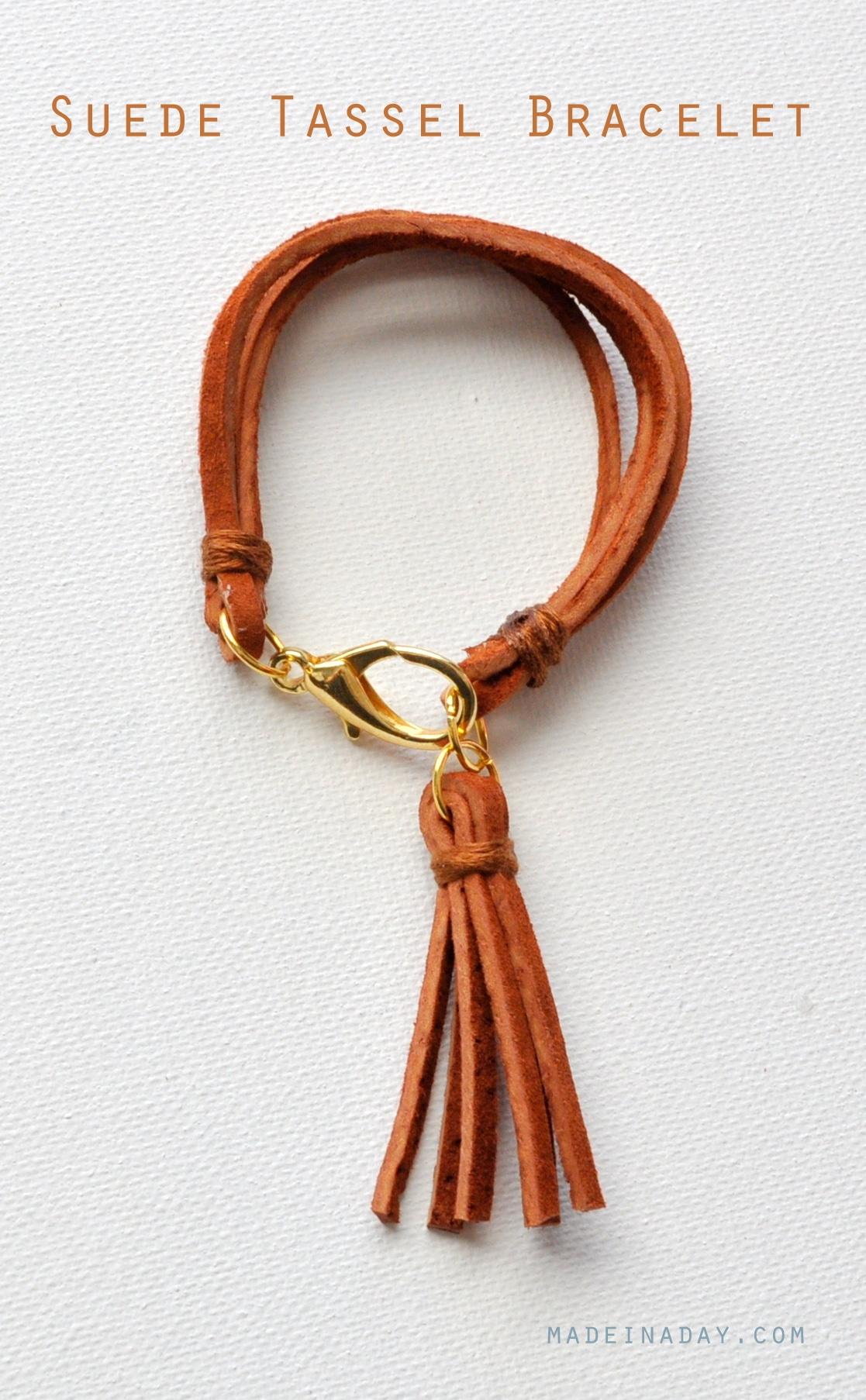 Suede Tassel Necklace 4