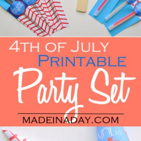 Printable 4th of July Supply Kit 1